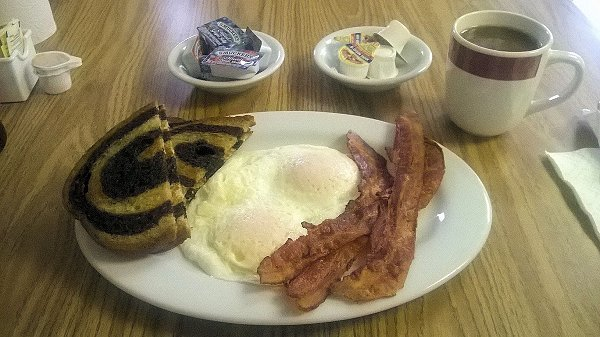 Bacon and Eggs and Mel's Southern Diner - Hot Springs, Arkansas