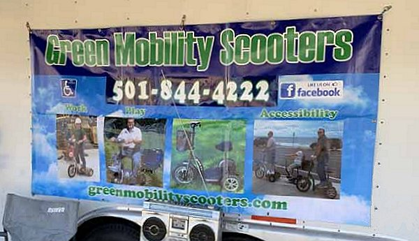 Green Mobility Scooters Banner