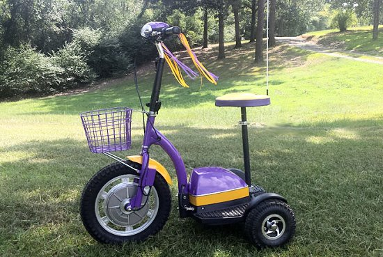 LSU Edition Scooter