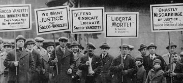 justice for Sacco and Vanzetti