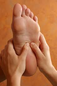 Reflexology is different from Massage