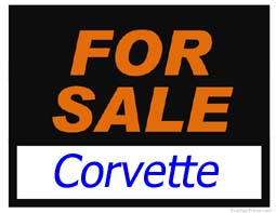 Corvette - Parts for Sale