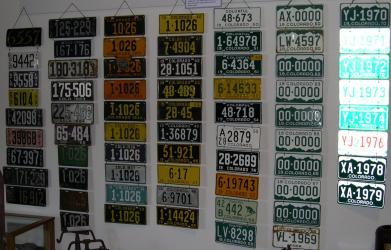 Licence Plate Collection