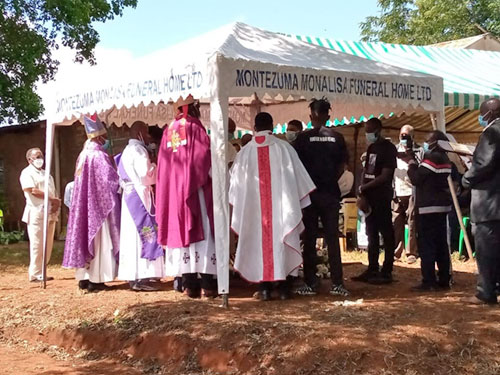 Requiem Mass for Departed Brother Fr. Justin Kilonzo