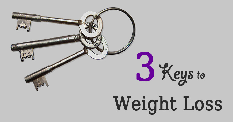 what are the keys to weight loss