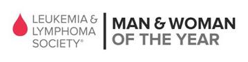 Leukemia and Lymphoma Sociaty Man and Woman of the Year Logo