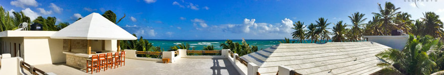 Rooftop Deck of Th ePalms Punta Cana