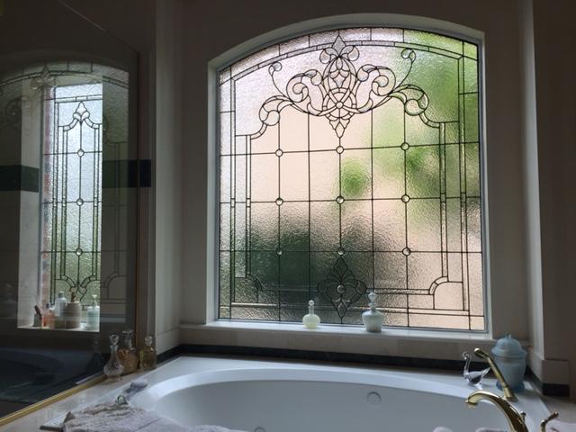 ArtGlassByWells Serving Houston Since BATH WINDOWS - Master bathroom windows