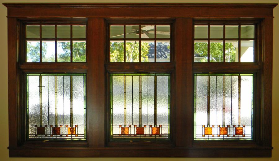 Parks front windows