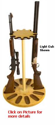12 Gun Capacity Rotary Gun Rack Retention Band