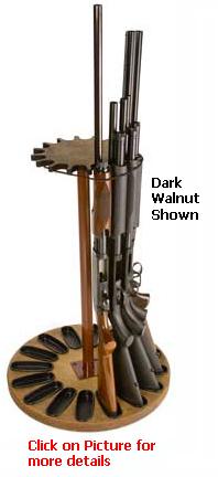 16 Gun Capacity Rotary Gun Rack Retention Band