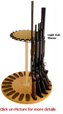 22 Gun Capacity Rotary Gun Rack Retention Band