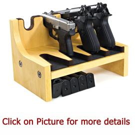 Gun Racks for Pistol and Handgun Storage magazine rack Gun Safe 8 Handgun Rack
