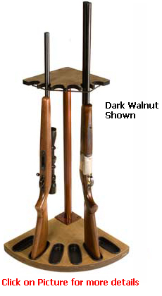 Corner Gun Rack 6 Gun