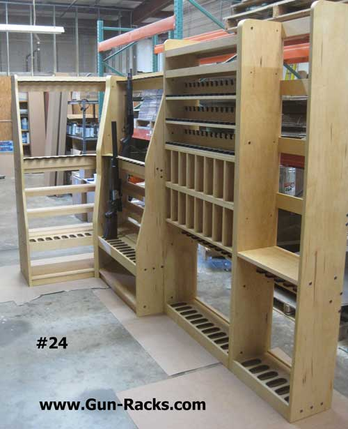 Double Level Pistol and Shelves