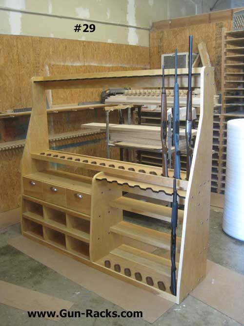 Double Level Off Set Vertical with Drawers