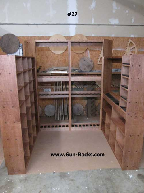 Double Level with Shelve and Pistol Racks