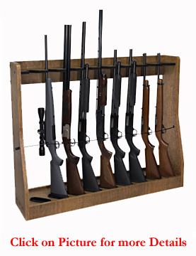 Vertical Gun Rack Adjustable