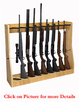 Vertical Gun Rack Magnetic