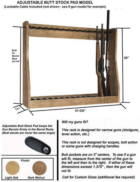 Adjustable Vertical Gun Rack 15