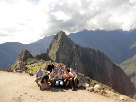 2010 Group at Machu Picchu