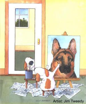 Wannabee - every dog's fantasy