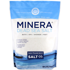 Minera Dead Sea Salt -Unscented - 5 lb