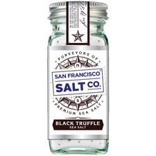 Black Truffle Salt 4 oz Shaker