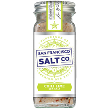 Chili Lime Sea Salt - 4oz Shaker - Gourmet Salt