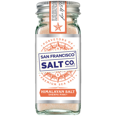 Glass Shaker - Sherpa Pink Himalayan Salt  4oz