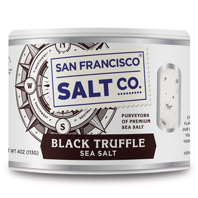 4oz Stackable - Black Truffle Salt
