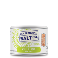 Chili Lime Sea Salt - 4oz Stackable - Gourmet Salt