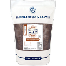 Smoked Alderwood Salt - Fine grain - 2lb Bag