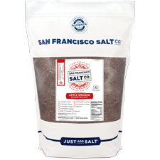Smoked Applewood Salt - 2 lb Bag - Coarse Grain | SF Salt Co.