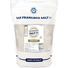 Fine Grain French Grey Salt - 2 lb Bag Bulk Gourmet Salt