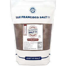 Hickory Smoked Sea Salt 2lbs Fine grain