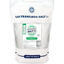 Irish Kiln Dried Sea Salt - 2lb Bag - Gourmet Salt