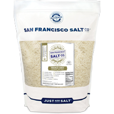 Coarse Grain French Grey Salt - 5lb Bag Bulk