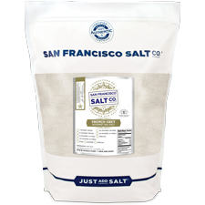 Fine Grain French Grey Salt - 5 lb Bag Bulk
