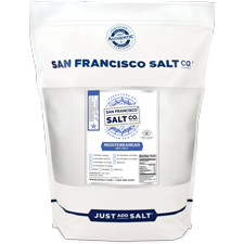 Fine Grain Mediterranean Sea Salt - 5 lb Bag