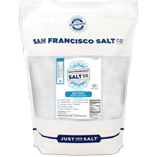 Coarse Grain Pacific Ocean Gourmet Salt - 5 lb Bag