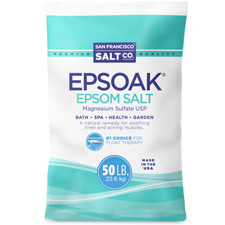 We are the #1 supplier of Epsom Salt to the float community!