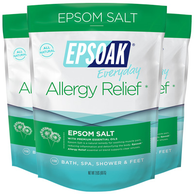 EPSOAK Everyday Allergy Relief Epsom Salt