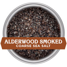Alderwood Smoked Salt - COARSE