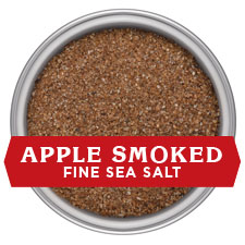 Applewood Smoked Salt - FINE