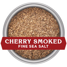 Cherrywood Smoked Salt - FINE