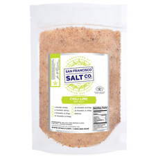 Chili Lime Sea Salt - 10lb Bag - Gourmet Salt