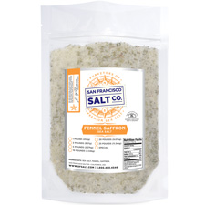 Fennel Saffron Sea Salt - 10lb Bag - Gourmet Salt