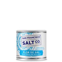 Flor De Sal Sea Salt - 4oz Stackable - Gourmet Salt