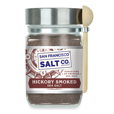 Smoked Hickorywood Salt - Chef's Jar  8 oz